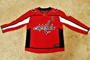 Fan-Trikot Washington Capitals NHL vom Alex Ovechkin mit der Nummer 8 wie neu