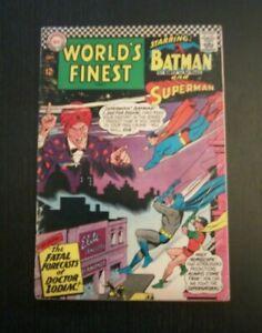 World's Finest Comics #160 Origin & 1st. Appearance Dr. Zodiac DC  1966 FN???
