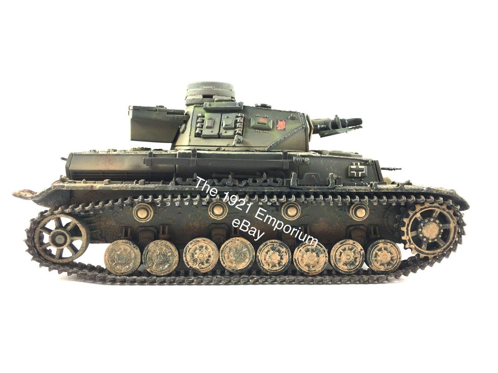 spedizione veloce a te 1 1 1 32 Diecast Unimax giocattoli Forces of Valor WWII Geruomo Panzer IV Tank  Garanzia del prezzo al 100%
