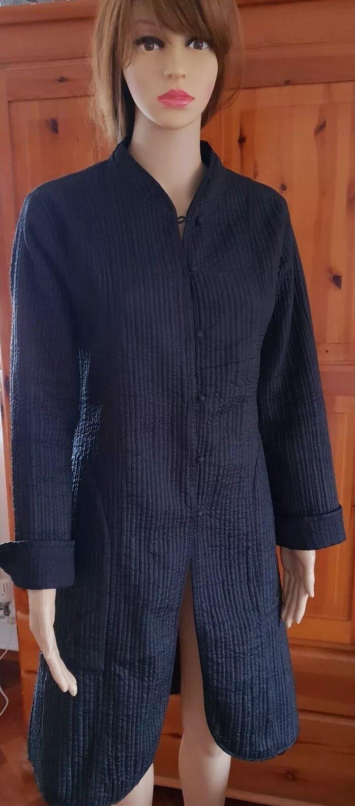 INDIAN Nero Cardigan Cardigan Cardigan Taglia XL 828e03