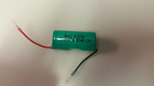 2.4v 400mah Pager Battery for LRS Long Range Systems Starpager MH400AAT2AN