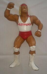 LJN-Hulk-Hogan-1988-white-shirt-wrestling-figure-Titan-Sports-WWF