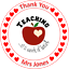 Personalised cake topper Thank you teacher wafer icing sheets 5 5.5 6 7 8 inch