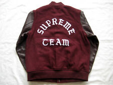 16 Supreme Wool Varsity Crew Jacket burgundy L undercover comme de garcon box
