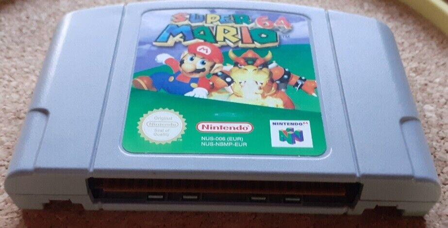 NINTENDO 64 - SUPER MARIO 64, N64, adventure