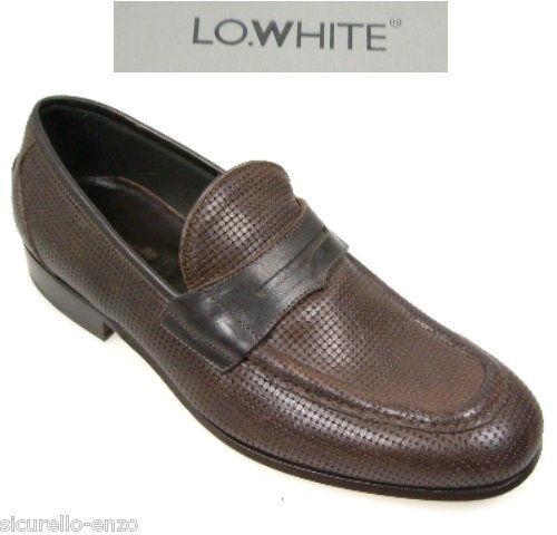 NEU - HERREN  SCHUHE-SLIPPER  LOWHITE shoes Gr  44- 10