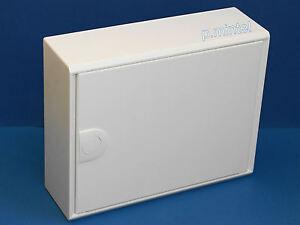 hager va12cn va12t aufputz kleinverteiler volta 1 reihig blecht r wei ebay. Black Bedroom Furniture Sets. Home Design Ideas