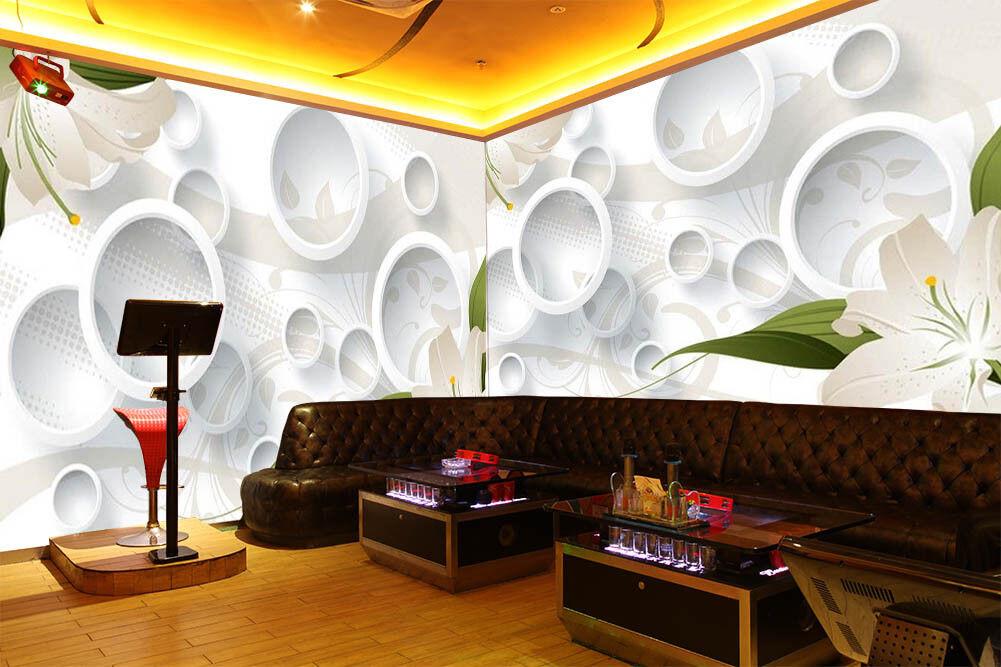 The Center Of Flower 3D Full Wall Mural Photo Wallpaper Printing Home Kids Decor