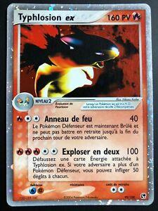 Carte Pokemon Typhlosion 99 100 Ex Holo Bloc Ex Francaise Ebay