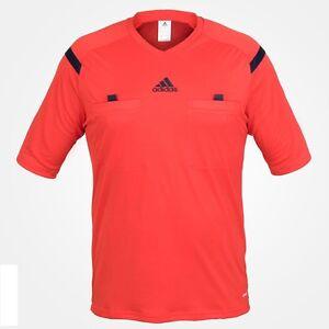 shirt Maillot Rouge L Orange Climacool Arbitre Tee shirt Herren Adidas M T MzSpVU