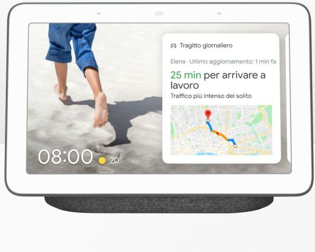 Assistente Virtuale GOOGLE - Nest Hub - smart bianco nero