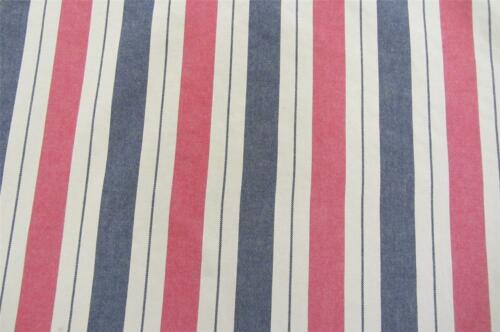 New haven Heritage  Feryetts Striped Cotton Curtain//Craft Fabric