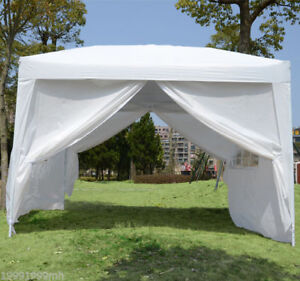 10x10ft-Easy-Pop-Up-Party-Tent-Gazebo-Marquee-Canopy-w-4-Removable-Sidewalls
