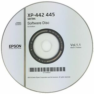 Epson-Printer-Driver-Disc-CD-Expression-Home-XP-442-XP-445-Software-Disk