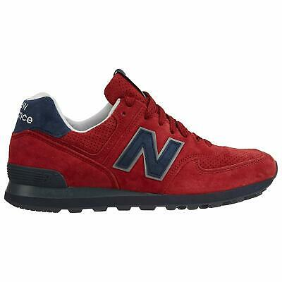 New Balance 574 Classics Shoes Suede-Connoisseur Red//Blue US574XAD SZ 7-13