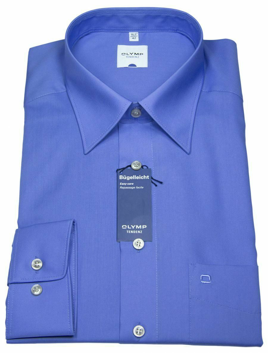 Cornflower Blue Classic Collar