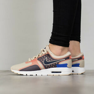 brand new 19fdb 67cb6 Details about Nike Womens Air Max Zero SI 881173-101 OATMEAL SIZE 6.5 USA  SZ 4 UK NEW 2018 DS