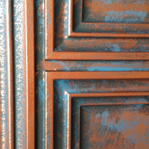Ceiling tile Faux antique tin night club decor wall panel 10tile//lot PL37