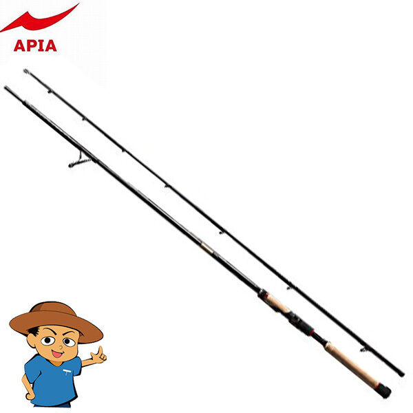 Apia foojin 'ad Metro Knight 86LX Ultra Light 8' 6  Para Pesca Spinning Rod Polo