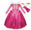 Girls-Aurora-Dress-Sleeping-Beauty-Princess-Costume-Cosplay-Party-Fancy-Dresses thumbnail 1