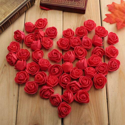 Portable 30Pcs PE Foam Artificial Rose Flowers For Wedding Car Party Decoration