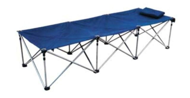 Action Foldable Single Bed Camping Spare Compact Sleeping
