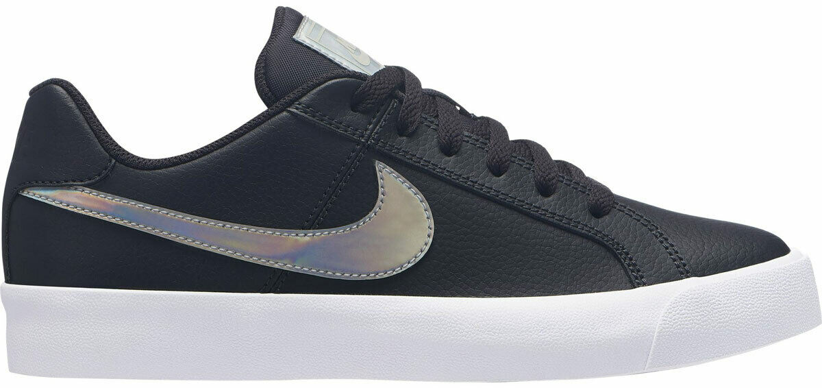 Nike Turnschuhe COURT ROYALE schwarz Größe 42,5 43 AO2810 002