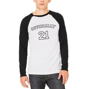 Milestone-Birthday-Athletic-Officially-21-Mens-Long-Sleeve-Raglan-T-Shirt