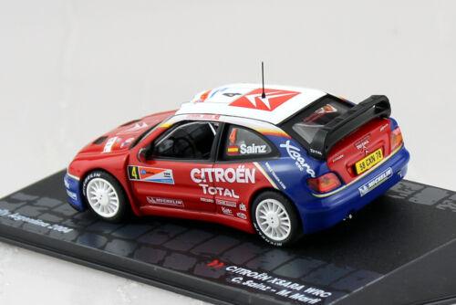 Citroen Xsara WRC Sainz Rally 2004 #4 1:43 Ixo//Altaya Modellauto