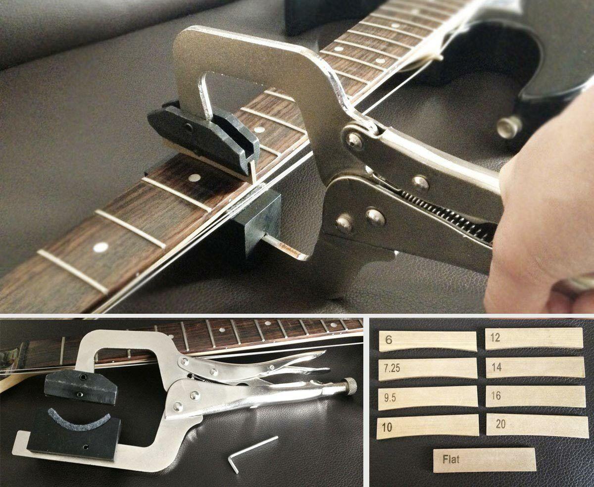 Handheld Guitar Fret Press & Insert Set for Guitar Maker Luthier