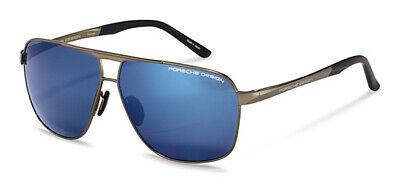 Motiviert Porsche Design P 8665 C Größe 63 Sonnenbrille Pilotenbrille Brillen Brille Neu 100% Hochwertige Materialien