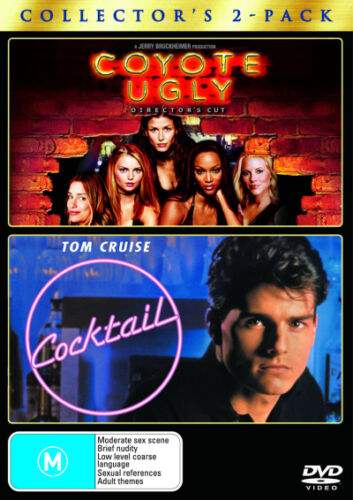 1 of 1 - Coyote Ugly / Cocktail * NEW DVD * (Region 4 Australia)