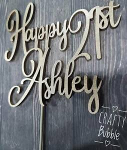 PERSONALISED-WOODEN-BIRTHDAY-CAKE-TOPPER-ANY-NAME-AGE-COLOUR