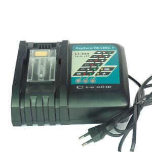 Makita DC18RC Ladegerät 7.0Ah Schnellladegerät für BL1830 BL1430 Akku 14.4V-18V