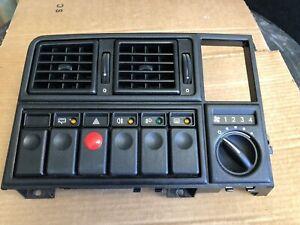 OPEL-Monza-GSE-senador-un-ajuste-Dash-con-conmutadores-usados-en-orden-de-trabajo-menta