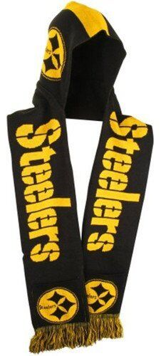 NFL Football Team Logo Warm Winter Knit HOODED Scarf Pick Your Team!