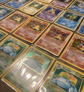 Pokemon-Card-Lot-WOTC-13-Card-Pack-Rare-Holo-Shadowless-1999-2003