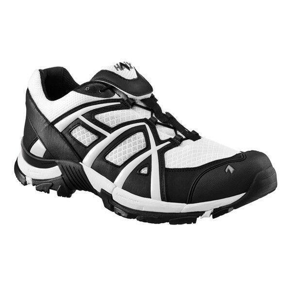 HAIX schwarz Eagle Adventure 30 Mono Low Schuhe weiß schwarz Halbschuh Freizeit