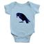 Infant-Baby-Rib-Bodysuit-Jumpsuit-Romper-Clothes-Beautiful-Black-Crow-Raven-Bird thumbnail 9