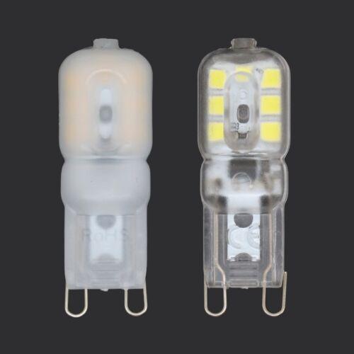 2//5//10x G4 G9 Halogen Capsule LED Light Bulbs 2W 5W 10W 20W 25W 40W 60W 12V Lamp
