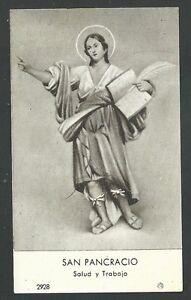 image pieuse ancianne de San Pancracio santino holy card estampa 1ebhbLA2-09103630-846105544