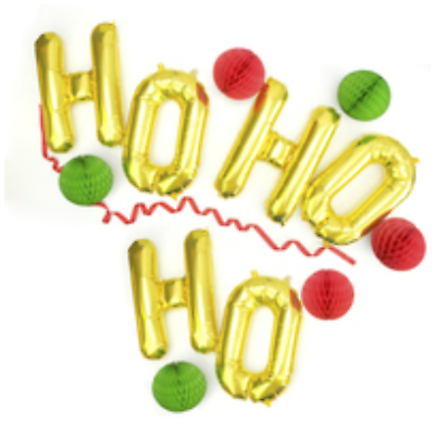 """16/"""" inch MERRY CHRISTMAS Foil Balloons Letters Party Colourful Decor Baloons"""