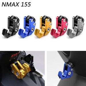 Carry-Helmet-Bottle-Hanger-Holder-Hooks-Aleacion-CNC-Para-Yamaha-NMAX-155-ES