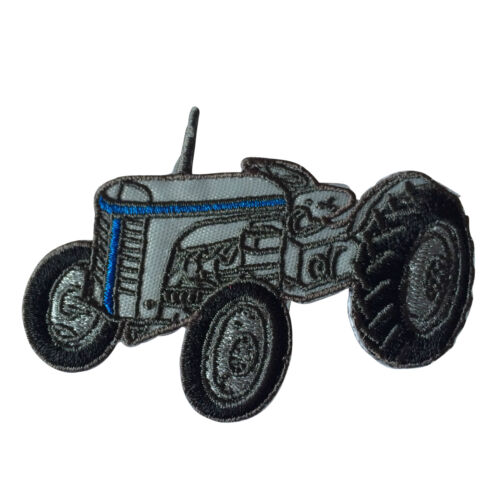 Embroidered Classic Tractor Farming Sew or Iron on Patch Biker Patch