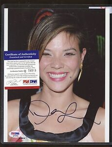 Jeananne-Goossen-Signed-8x10-Photo-PSA-DNA-COA-Autograph-AUTO