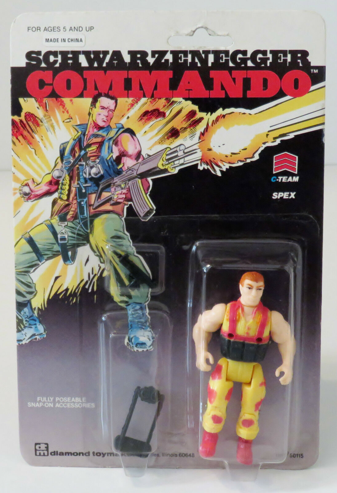 blackenegger blackenegger blackenegger Commando   C-Team Spex Action Figure 983e94