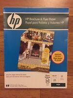 Hewlett Packard Brochure & Flyer Paper 8-1/2 X 11 50 Sheets C6817a