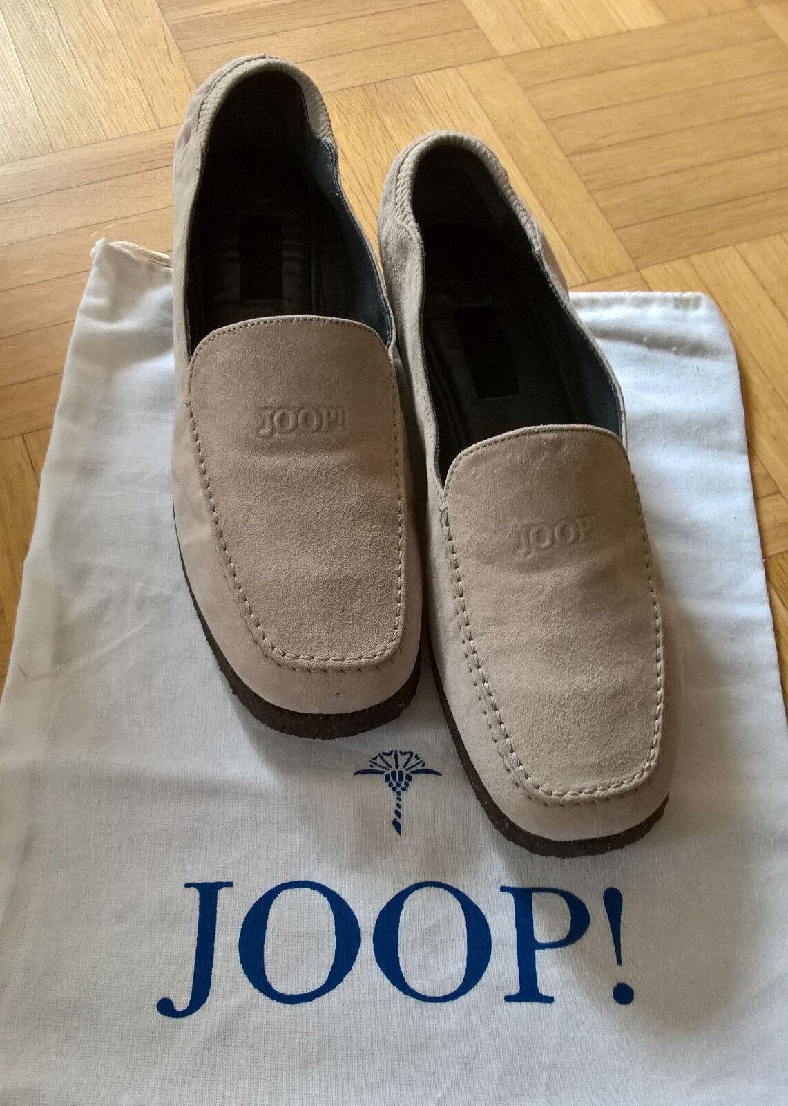 Grauer Loafer von Joop, Wildleder, Gr. 37,5, NEU und UNGETRAGEN