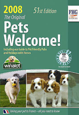 """AS NEW"" Pets Welcome! 2008, Anne Cuthbertson, Book"