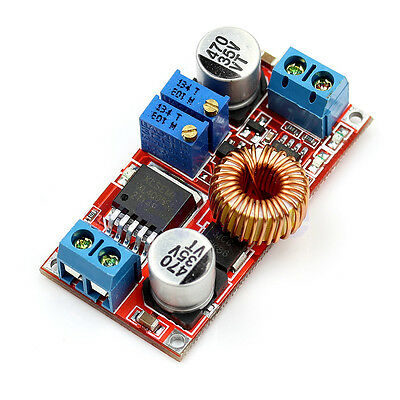 5A DC to DC CC CV Lithium Battery Charger Board LED Drive Power Converter Module